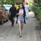Photos: Yami Gautam spotted at Diva Yoga