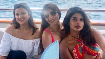 Priyanka Chopra Jonas and Parineeti Chopra's latest picture from their yacht celebration is all sorts of pretty!