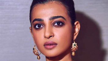 Radhika Apte personifies sunshine in a saree by Tamanna Punjabi Kapoor