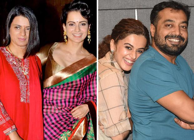 Rangoli Chandel calls Taapsee Pannu 'sasti copy' of Kangana Ranaut, Anurag Kashyap calls her sister desperate