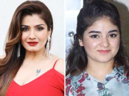 Raveena Tandon deletes tweet over Zaira Wasim quitting Bollywood; apologizes to the young actress