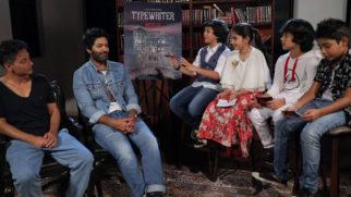 SUPER FUN Interview Team Typewriter Purab Kohli, Sujoy Ghosh & Adorable Kids
