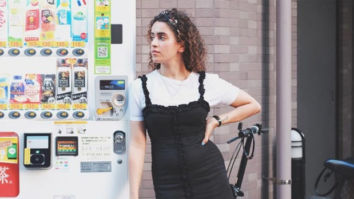 Sanya Malhotra gets nostalgic as she visits her home in Tokyo after 23 years
