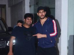 Sidharth Malhotra & Milap Zaveri spotted at Sunny Super Sound, Juhu