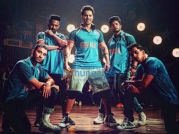 on the sets of the movie Street Dancer 3D