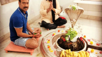 THIS pic of AJAY DEVGN'S casual attire in a religious place has gone viral leading to social media trolling!