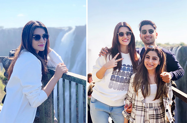 TRAVEL DIARIES: Before kicking off Arjun Patiala promotions, Kriti Sanon takes off for an exotic vacation to Zambia!