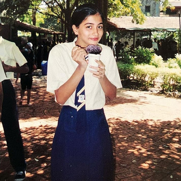 FLASHBACK FRIDAY: This adorable photo of Pooja Hegde enjoying a gola will take you back to your childhood days!