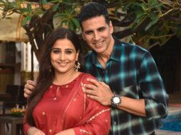 Akshay Kumar and Vidya Balan spotted at Sun & Sand, Juhu