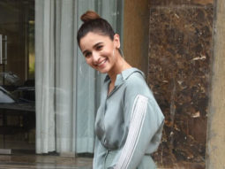 Alia Bhatt spotted at Juhu for promotion of her song Prada