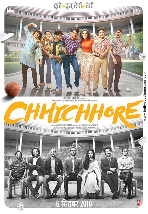 First Look Of The Movie Chhichhore