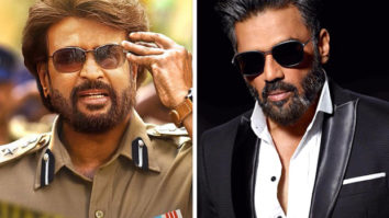 Darbar: Rajinikanth and Suniel Shetty shoot high octane action sequence discreetly in South Mumbai