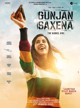 FIRST LOOK: Janhvi Kapoor transforms into combat pilot Gunjan Saxena in Kargil Girl; the film to release on March 13, 2020