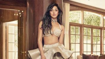 Kiara Advani becomes the perfect muse for Manish Malhotra on Hello Magazine cover!