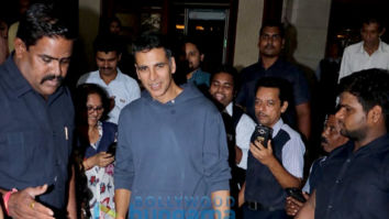 Photos: Akshay Kumar, Sonakshi Sinha, Vidya Balan and Taapse Pannu snapped promoting their film Mission Mangal at Radio City office in Bandra