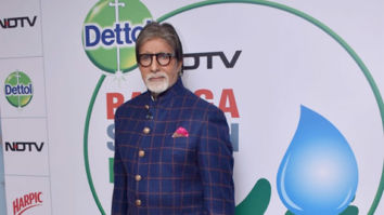Photos: Amitabh Bachchan attends the launch of NDTV Dettol Banega Swachh India season 9