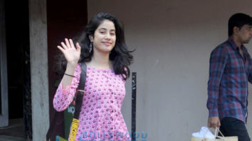 Photos: Janhvi Kapoor and her trainer Namrata Purohit spotted at Pilates studio
