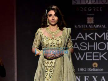 Photos: Kangana Ranaut, Malaika Arora, Shilpa Shetty and others walk the ramp as show stoppers at Lakme Fashion Week 2019 | Day 5