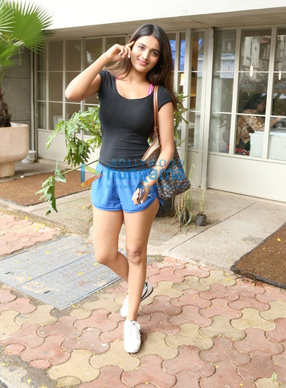 Photos: Nidhhi Agerwal spotted at Sequel in Bandra