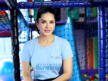 Photos: Sunny Leone snapped at the launch of her new venture D'art Fusion Art and Play Centre