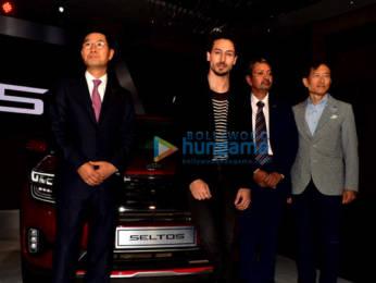 Photos: Tiger Shroff snapped at KIA car launch
