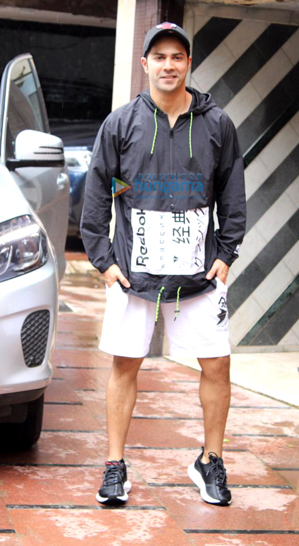 Photos Varun Dhawan spotted at the gym