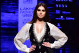 Tara Sutaria sashay the Ramp for Ritu Kumar at Lakme fashion Week day 3