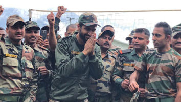 Uri: The Surgical Strike actor Vicky Kaushal spends time with the Indian Army