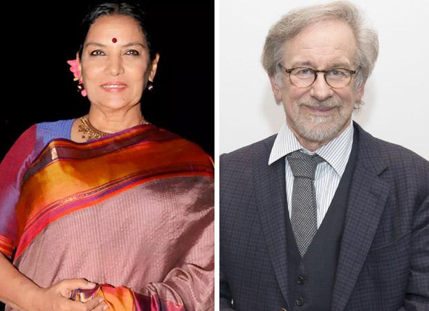 WOAH! Shabana Azmi to work with Steven Spielberg