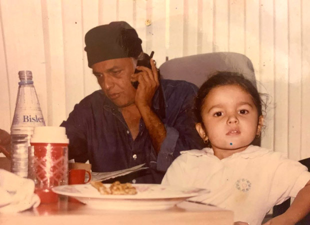 Alia Bhatt shares cutest then and now photos with her dad Mahesh Bhatt to wish him on his birthday