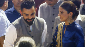 Anushka Sharma and Virat Kohli hold back their tears after hearing an incident of his father's demise