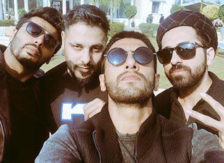 Badshah's throwback picture with the YRF boys, Ranveer, Arjun, and Ayushmann will leave you wanting them all in a music video!