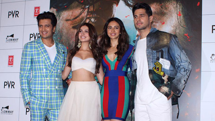 Celebs grace the trailer launch of Marjaavaan