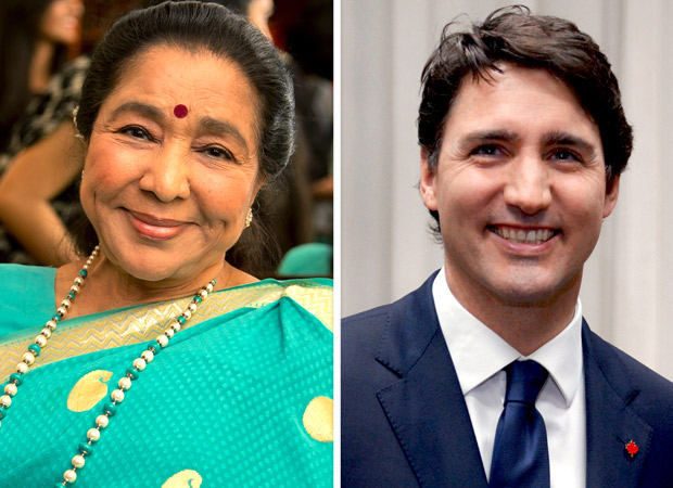 Canadian PM Justin Trudeau wishes veteran singer Asha Bhosle on her birthday