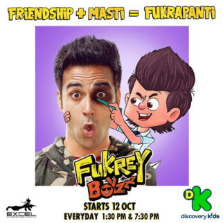 Fukrey Boyzzz: Pulkit Samrat, Varun Sharma, Manjot Singh, Richa Chadha get animated