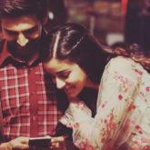 Kartik Aaryan and Ananya Panday celebrate as they wrap the shoot for Pati Patni Aur Woh