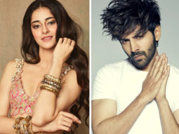 Pati Patni Aur Woh Ananya Panday and Kartik Aaryan kick-start the Mumbai schedule with a song