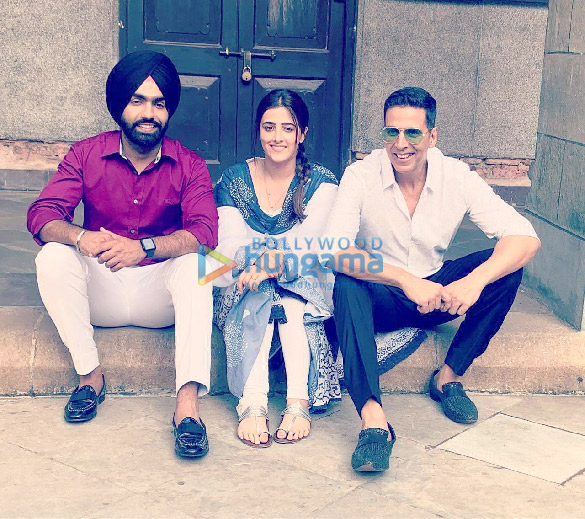 Photos: Akshay Kumar shoots for his first ever music video