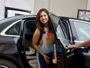Photos: Bhumi Pednekar snapped at a dance class in Andheri