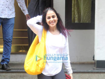 Photos: Genelia Dsouza spotted at Manish Malhotra's store