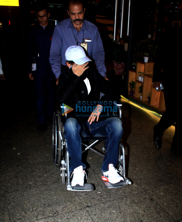 Photos: Irrfan Khan snapped at the airport