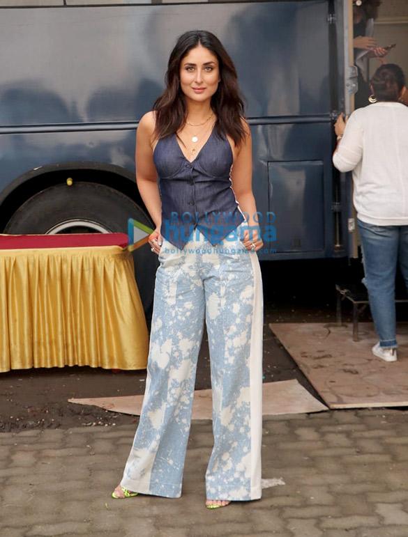 Photos Kareena Kapoor Khan spotted at Mehboob Studio in Bandra for Ishq 104.8 FM (6)