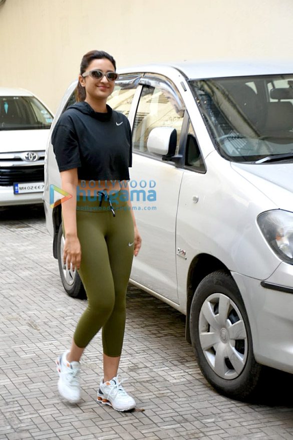 Photos: Parineeti Chopra snapped at the old Dharma Productions office