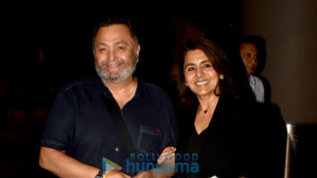 Photos: Rishi Kapoor and Neetu Singh snapped at the airport