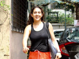 Sara Ali Khan spotted at dance class in Juhu