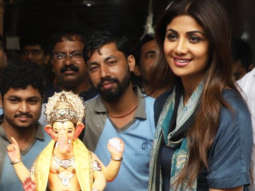 Shilpa Shetty welcomes Lord Ganesh at her Residence Ganesh Chaturthi