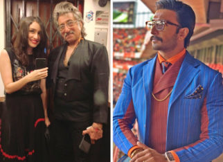 Shraddha Kapoor wishes Shakti Kapoor on his birthday and Ranveer Singh puts our thoughts to words by calling him a legend