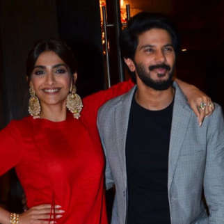 Sonam Kapoor and Dulquer Salman spotted promoting their movie The Zoya Factorat Juhu