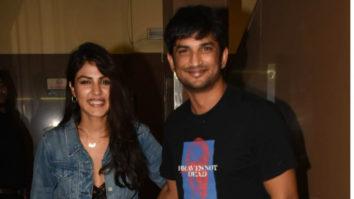 Sushant-Singh-Rajput-&-Rhea-Chakraborty-spotted-at-PVR,-Juhu