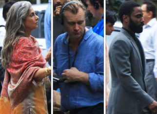 TENET: Dimple Kapadia, Christopher Nolan, John David Washington shoot in Mumbai sans Robert Pattinson